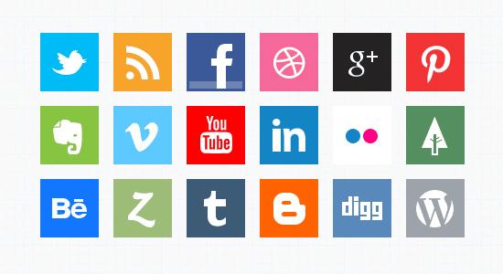 Canais mídias sociais