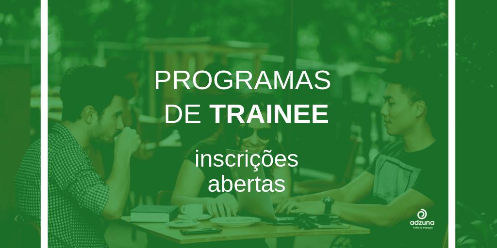 Programas de Trainee