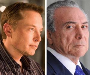 Elon Musk X Michel Temer